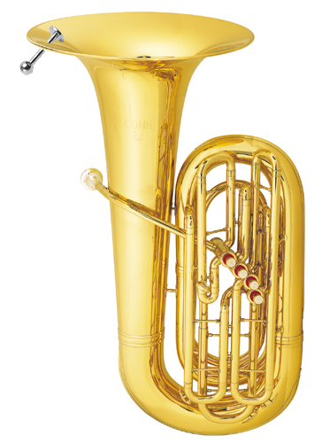 We're hoping this is just a phase, and our tuba will lose the labret when it gets a little older.